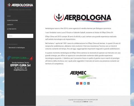 aerbologna sito realizzato da shift como