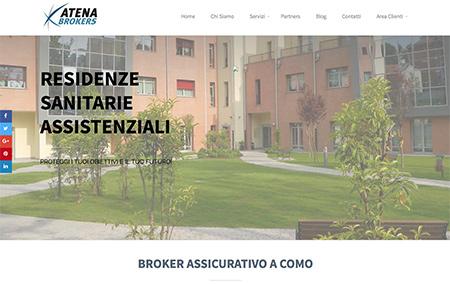 atena brokers sito realizzato da shift