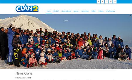 clan 2 sito realizzato da shift