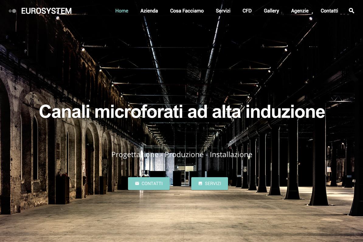 sito eurosystem realizzato da Shift