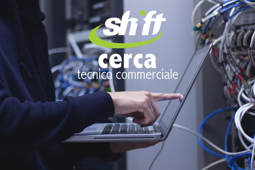 shift como cerca tecnico commerciale